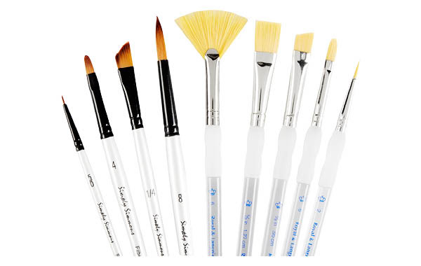 Level 1 Acrylic Paint Brushes