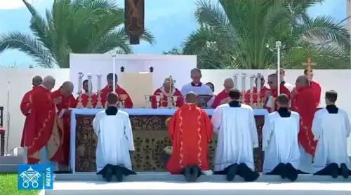 El Papa Francisco condena la mafia en Sicilia: No se puede creer en Dios y ser mafioso