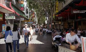 Demand for strata retail shops is very strong in Sydney's Chinatown.