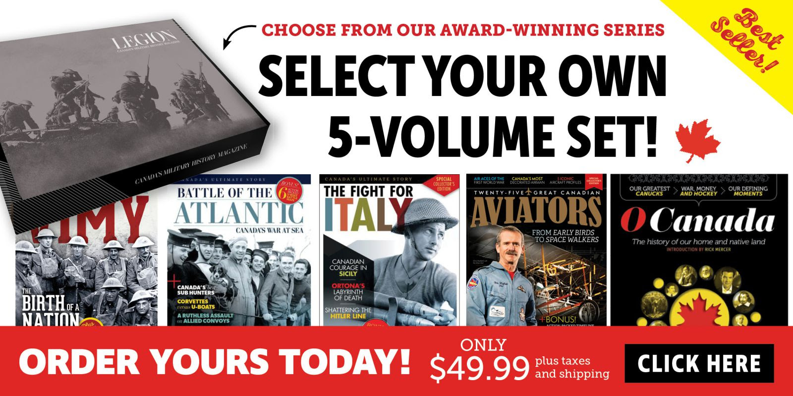 Best-Selling 5-Volume Set