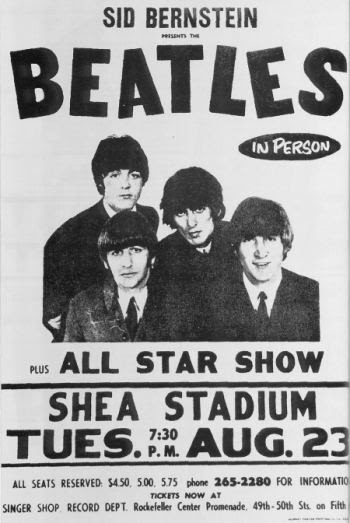 Image result for The Beatles Shea Stadium concert Images