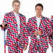 The Norwegian curling team has gotten used to people paying attention to their clothes.
