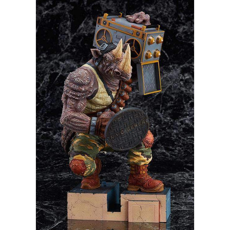 Image of TMNT Rocksteady PVC Statue by James Jean