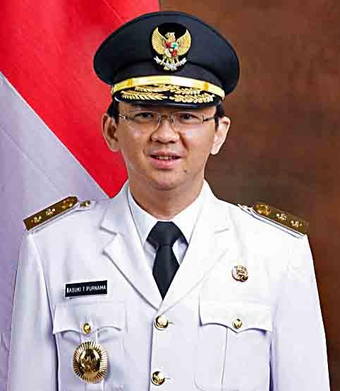 Jakarta Gov. Basuki Ahok Tjahaja Purnama. (Wikipedia)