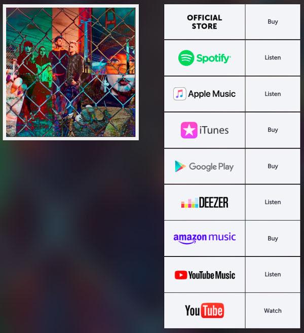 Disco disponible en todas las plataformas digitales