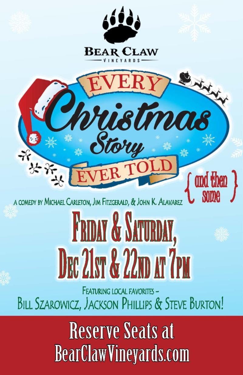Christmas Show at Bear Claw Vineyards