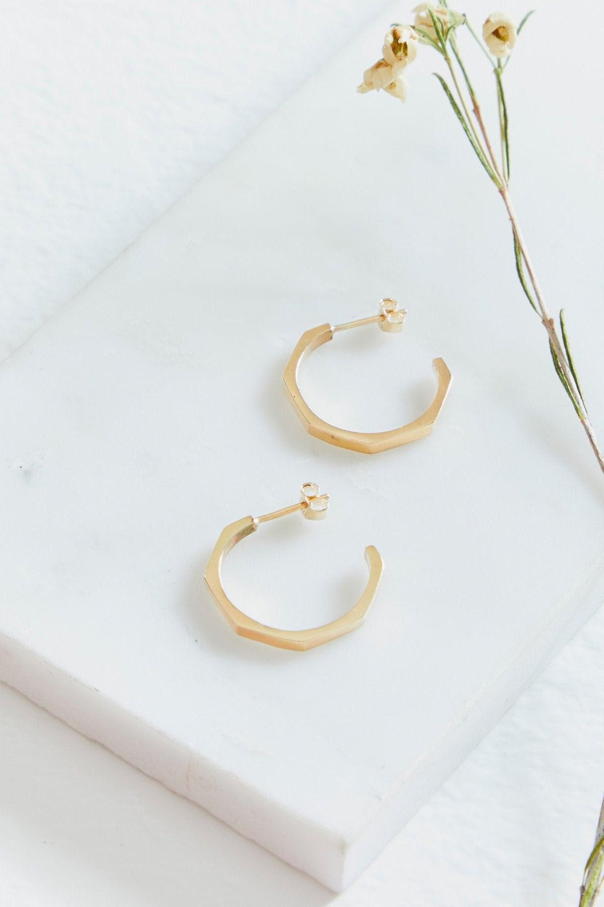 Otto Hoop Earrings Large