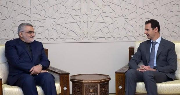 SIRIA: Presidente al-Assad agradece cooperación de Irán y Rusia en su lucha contra el terrorismo