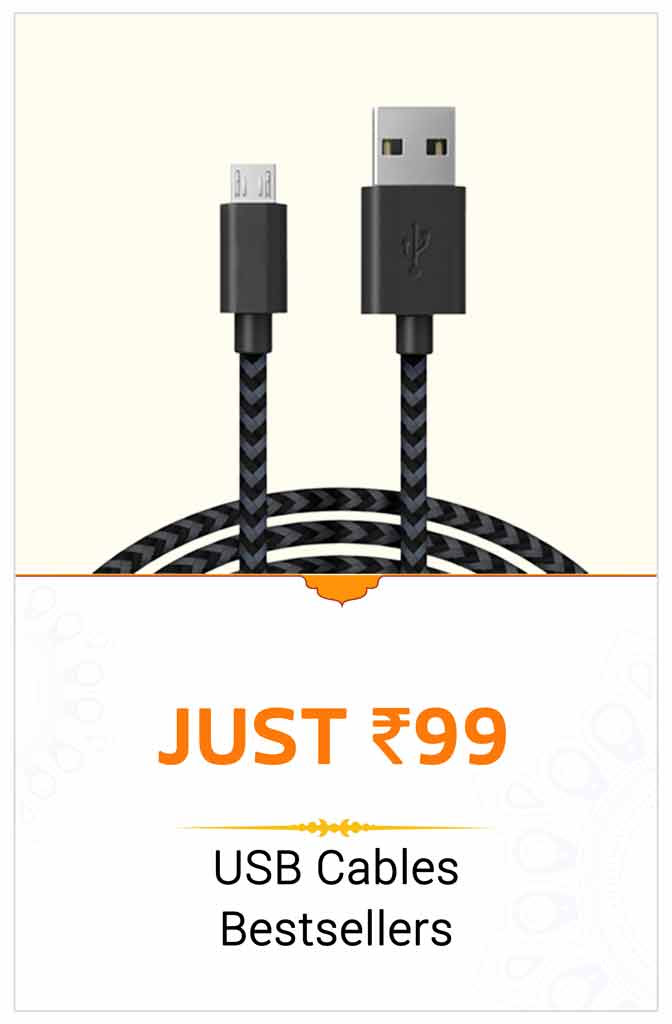 USB Cables at Rs.99