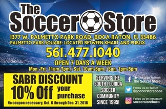The Soccer Store 2018-2019 10% Discount