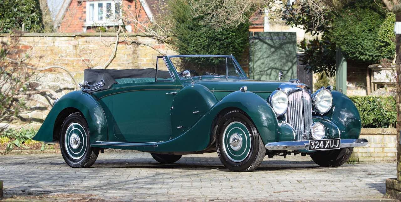 1939 Lagonda V12 Drophead Coupé, sold for £230,000