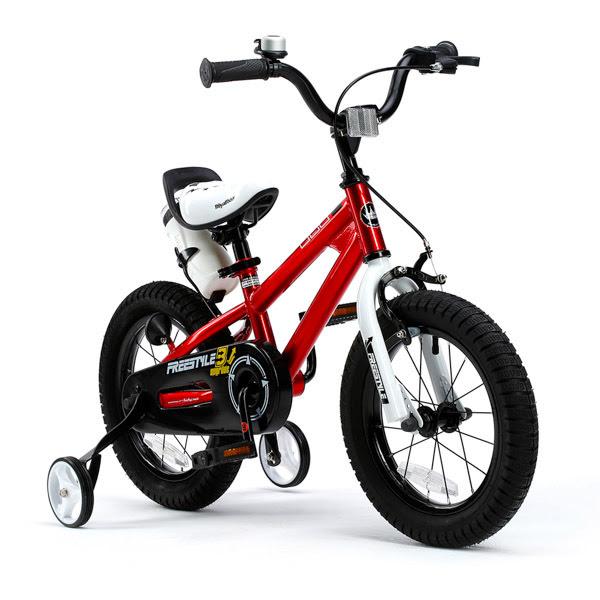 RoyalBaby FreeStyle bicikli - 12, piros