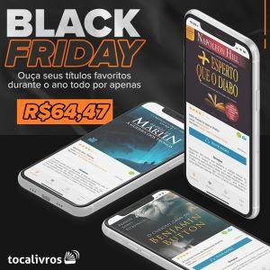 Black Friday com mais de 2 mil audiolivros na promoção