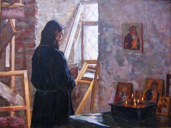 Кизилова Екатерина Викторовна. Молитва. 2004 г.