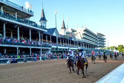 Authentic wins a unique Kentucky Derby at Churchill Downs