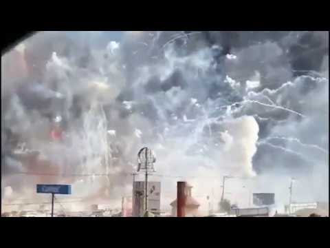 Crazy! Fireworks Factory Explodes In Mexico City Hqdefault
