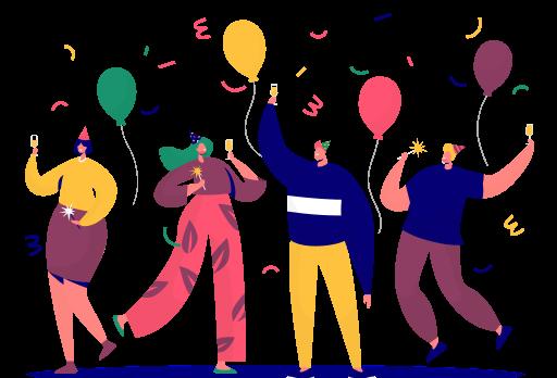 As festinhas de aniversário na empresa