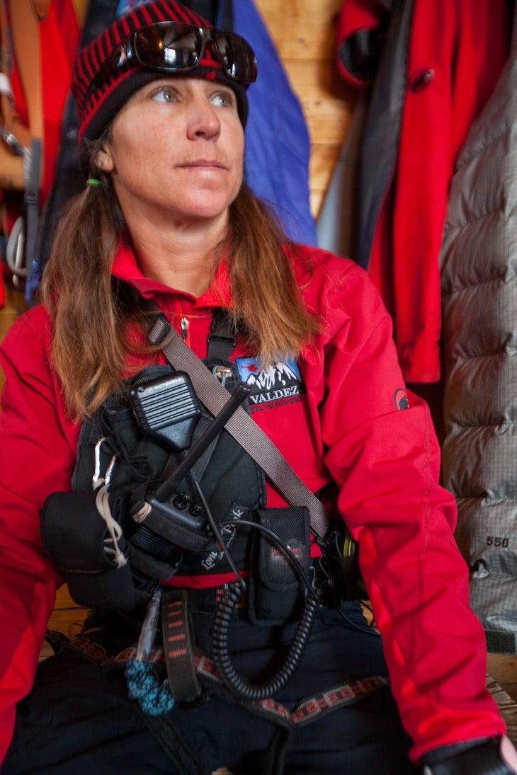 Kristen Kramer, Valdez Heli Ski Guide