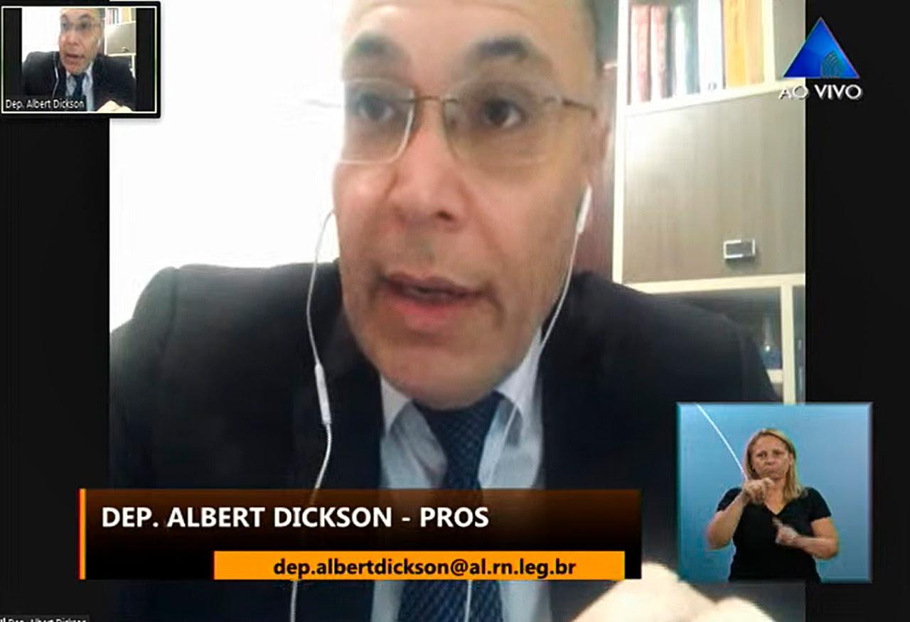 Albert Dickson ressalta importância do trabalho de prevenção à Covid-19 - Tribuna de Noticias