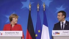 Macron à Bruxelles : ouvrons nos frontières aux migrants !
