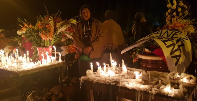 Los cocaleros despidieron a sus fallecidos, pero continuarán con las protestas. / A. Favio Rodríguez