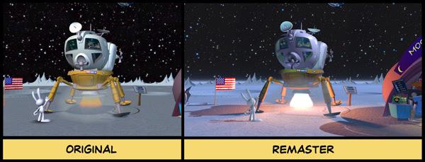 Original-remaster comparison shot