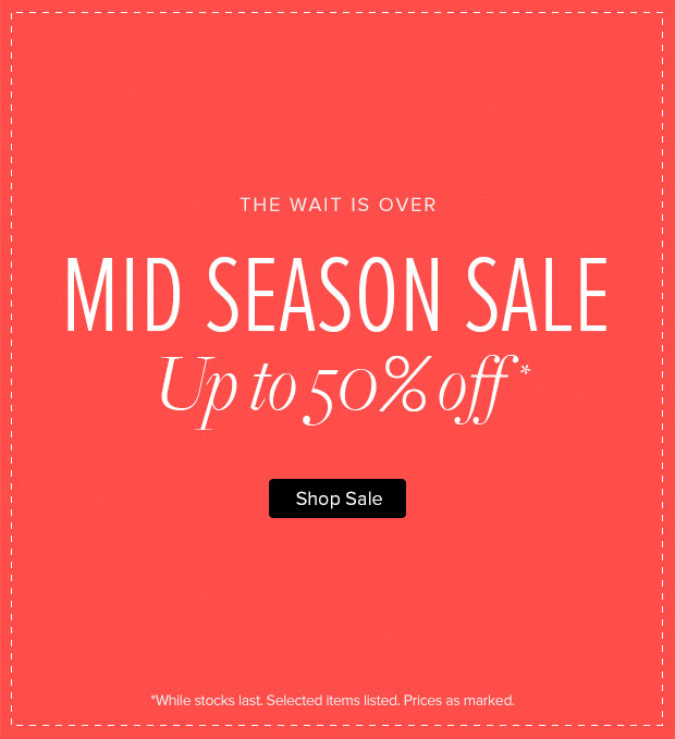 Mid season sale up to 50% off selected items at TheIconic.com.au