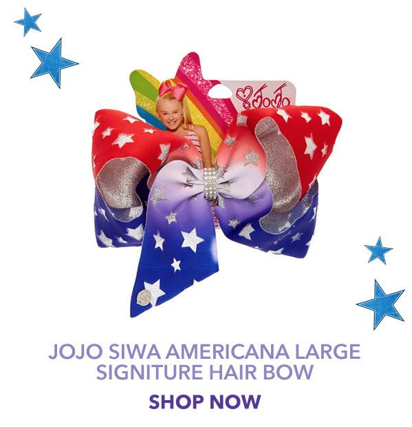 JoJo Siwa Americana Large Signiture Hair Bow