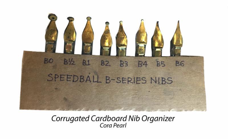Speedball nib organizer