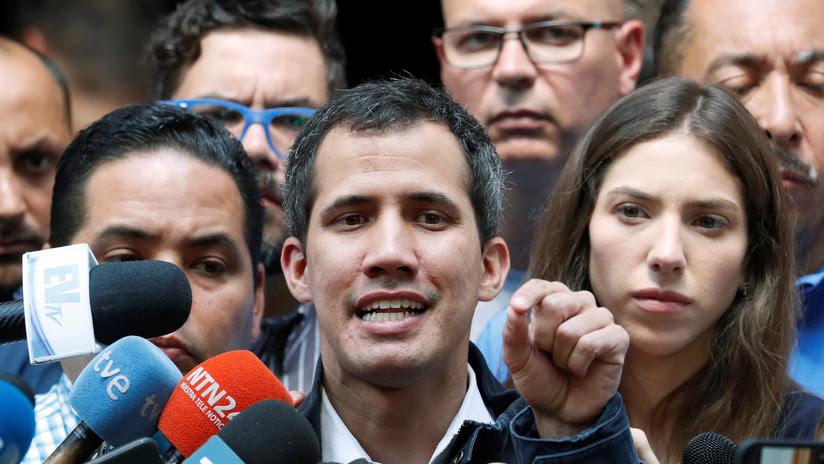 """Guaidó ordena la toma """"progresiva y ordenada"""" de los activos de Venezuela en el exterior"""