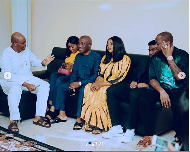 See more photos from Davido and Chioma