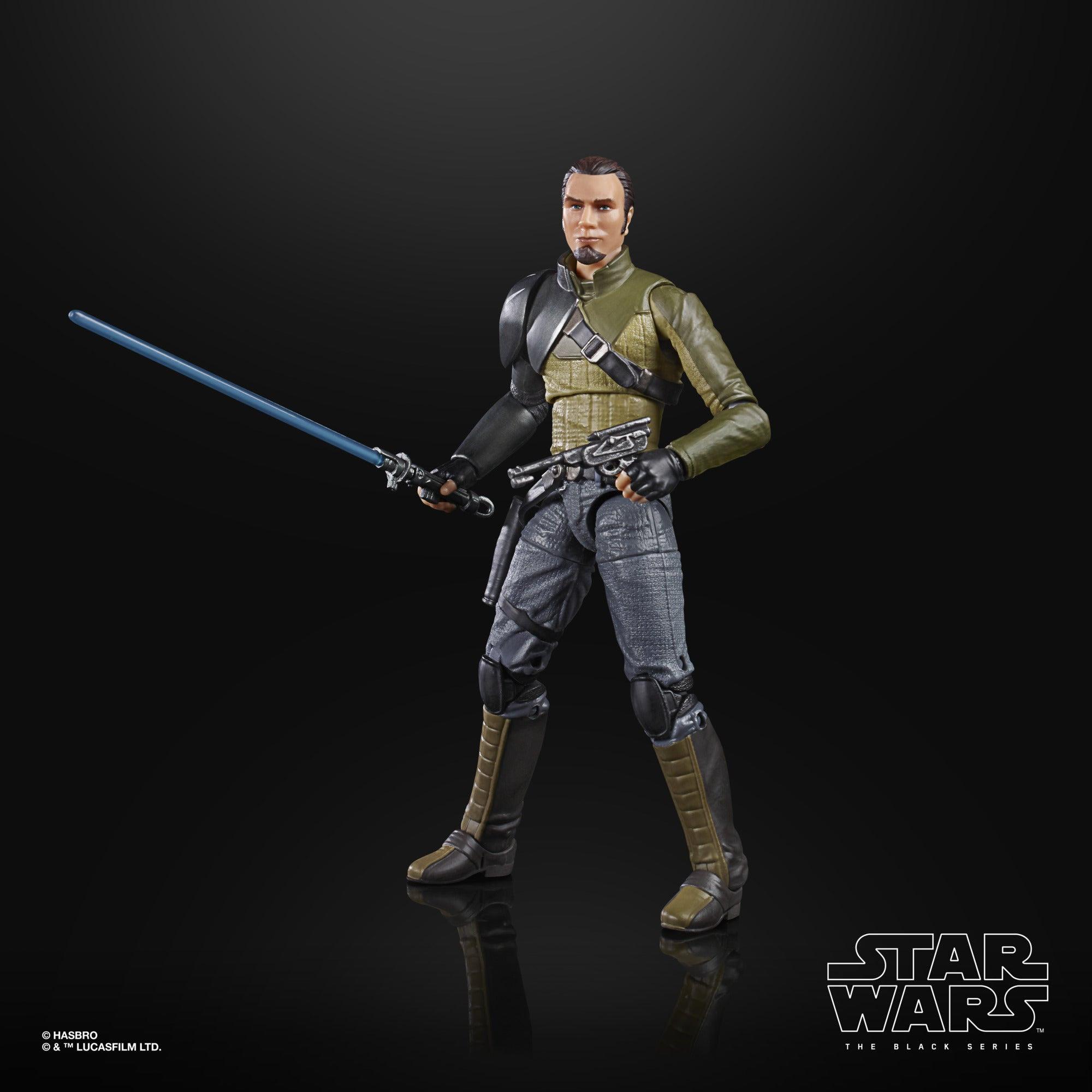 Image of Star Wars The Black Series Rebels Kanan Jarrus 6-Inch Action Figure - SEPTEMBER 2020