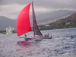 J/125 sailing Pacific Cup to Hawaii