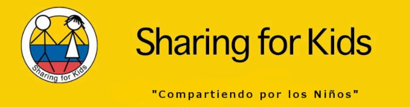 "Invitación Especial a ""Sharing for Kids"""