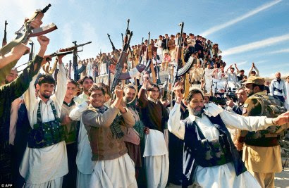 Tribal militias from Pakistan (in photo) are prime candidates for the Ghazwa-e-Hind. Photo Courtesy: AFP.