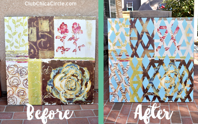 canvas-upcycle-art-project-for-teen-room-before-and-after