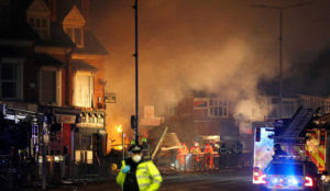 UK: Three Muslims charged with arson over shop blast in Leicester that killed five people