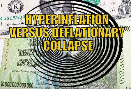 Hyperinflation vs Deflation
