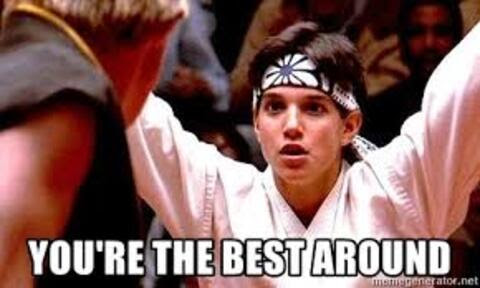 growth hacks by Taktical - karate kid meme