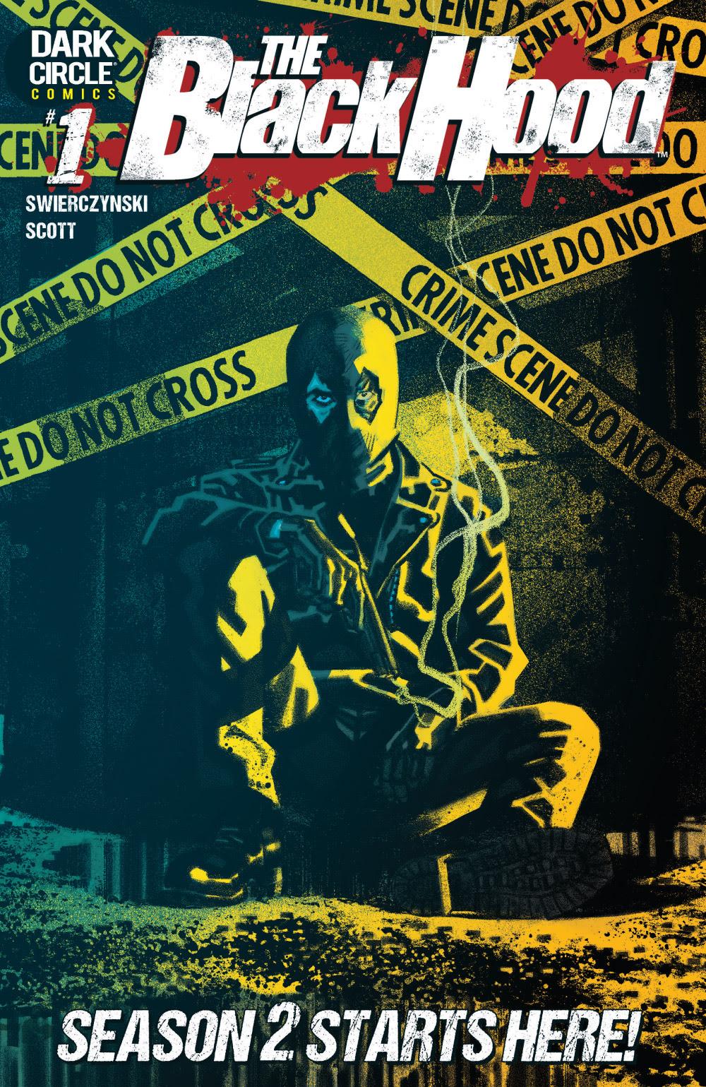 Black Hood Season 2 #1 Cover