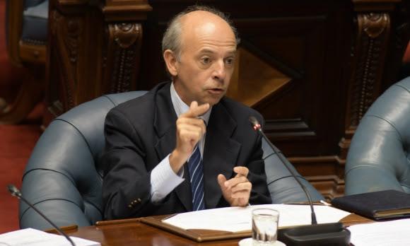 Crítica: el senador Javier García cuestiona el fiscal de Corte. Foto: Francisco Flores