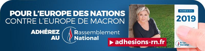 ADHÉSIONS DU RASSEMBLEMENT NATIONAL