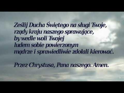 Modlitwa za OjczyznÄ™ Ks. Piotra Skargi - YouTube