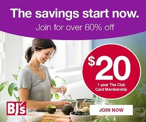BJ's Inner Circle® Membership 55% Off [404143]