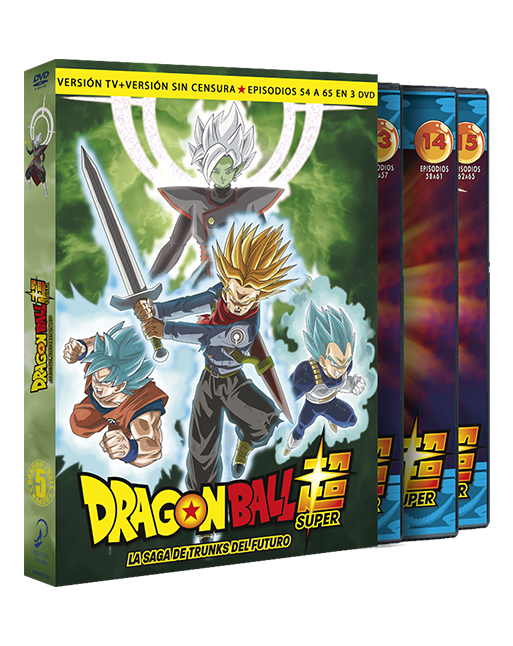 DRAGON BALL SUPER Box 5 DVD