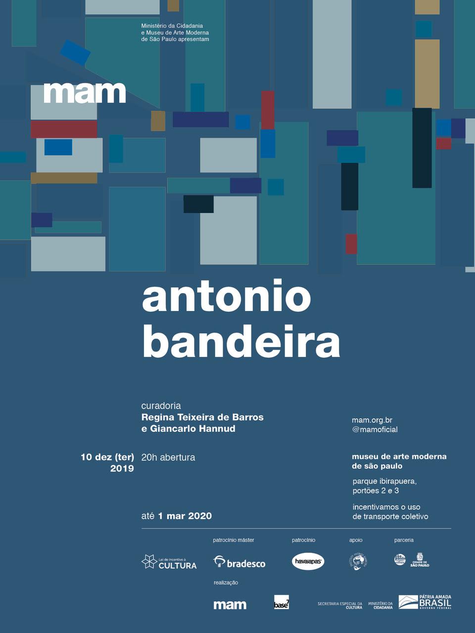 MAM Abertura Antonio Bandeira
