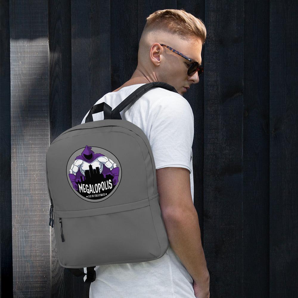 Image of Megalopolis Logo Sport Backpack With Laptop Pocket