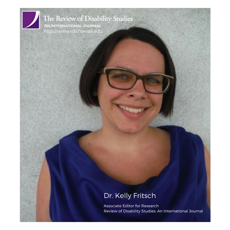 Photo of Dr.Kelly Fritsch, RDS Associate Editor for Research