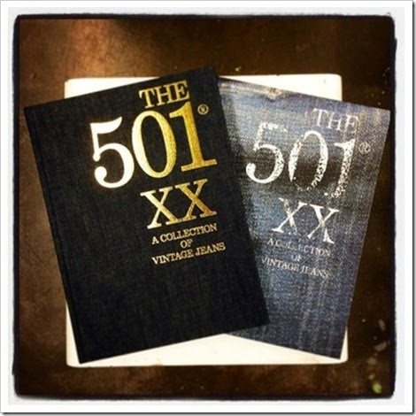 "Denimsandjeans.com ""Denim Book: The 501XXA-Collection Of Vintage Jeans """
