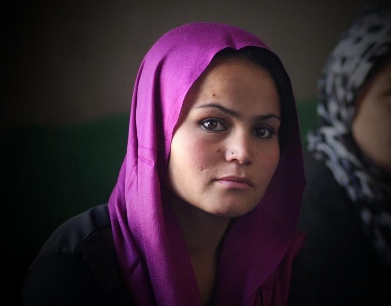 Rahila, a Women for Women International programme participant.